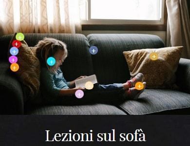 Lezioni suo sofà